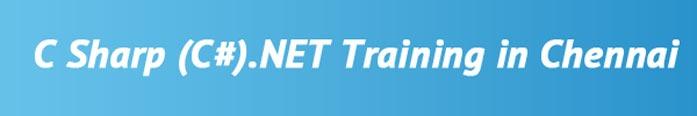C#.NET Training in Chennai