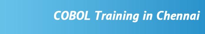 COBOL Training in Chennai