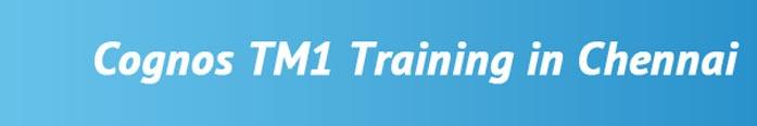 Cognos TM1 Training in Chennai