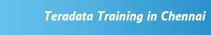 Teradata Training in Chennai