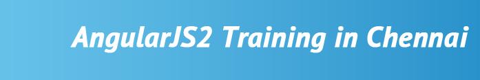 AngularJS2 Training in Chennai