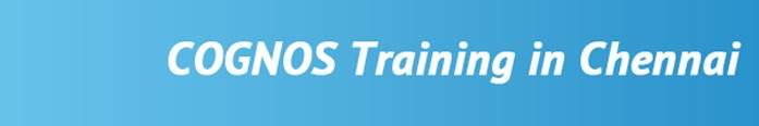 COGNOS Training in Chennai