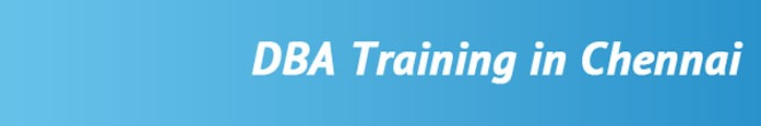 DBA Training in Chennai