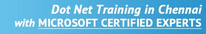 .NET Training in Chennai
