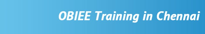 OBIEE Training in Chennai