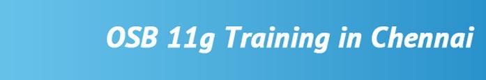 OSB 11g Training in Chennai
