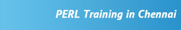 PERL Training in Chennai