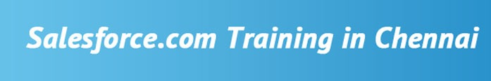 Salesforce Training in Chennai
