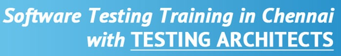 Software Testing Training in Chennai