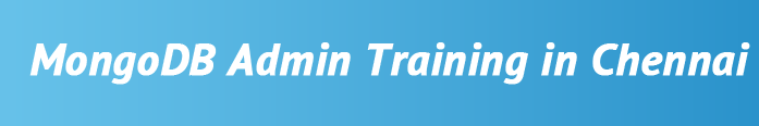 mongodb-admin-training-in-chennai