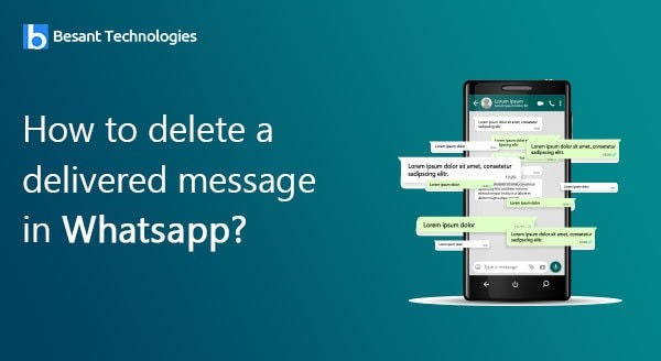 How to delete a delivered message in Whatsapp?