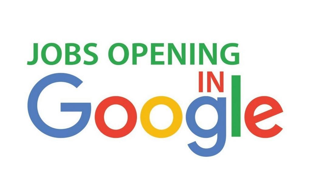 Google job opening