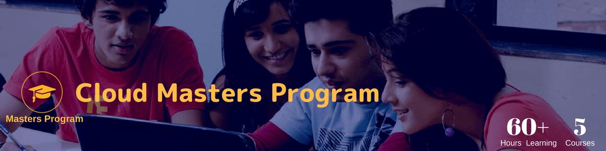 cloud master program