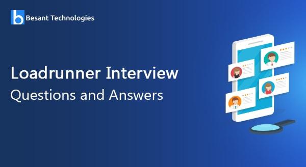 Loadrunner Interview Questions