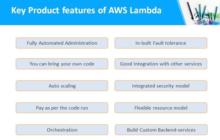 key product feature of aws lambda