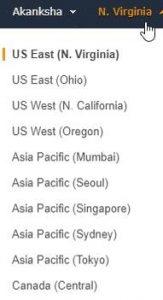 Selecting AWS Regions