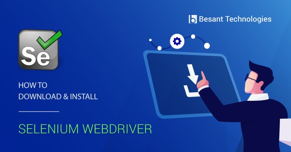 selenium webdriver download and install