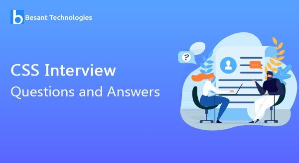 CSS Interview Questions and Answers