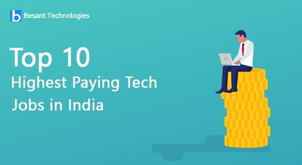 Top 10 tech jobs in india