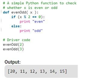 Python Function Example