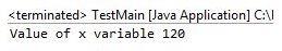Super Keyword in Java Output