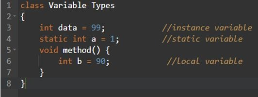 Variables Types