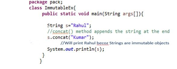 Java String | String Functions in Java with Example | Besant