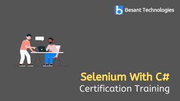 Selenium With C# Training in Chennai
