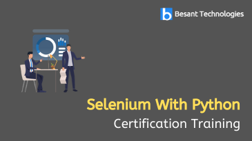 Selenium With Python Training in Bangalore