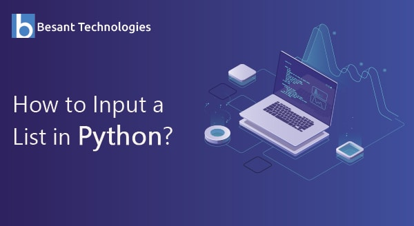 How to input a list in python