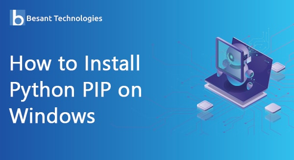 How to install python pip on windows