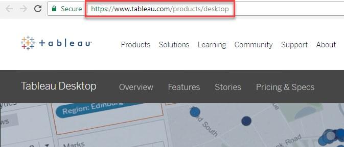 Tableau Desktop Step-1