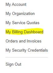 AWS Billing