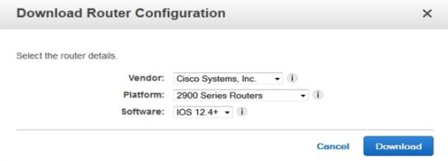 Download Router Configuration