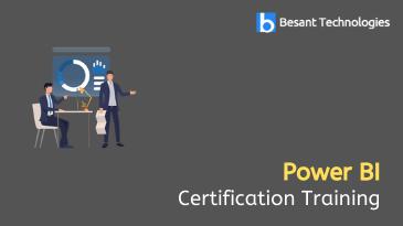 Power BI Certification Training in Kolkata