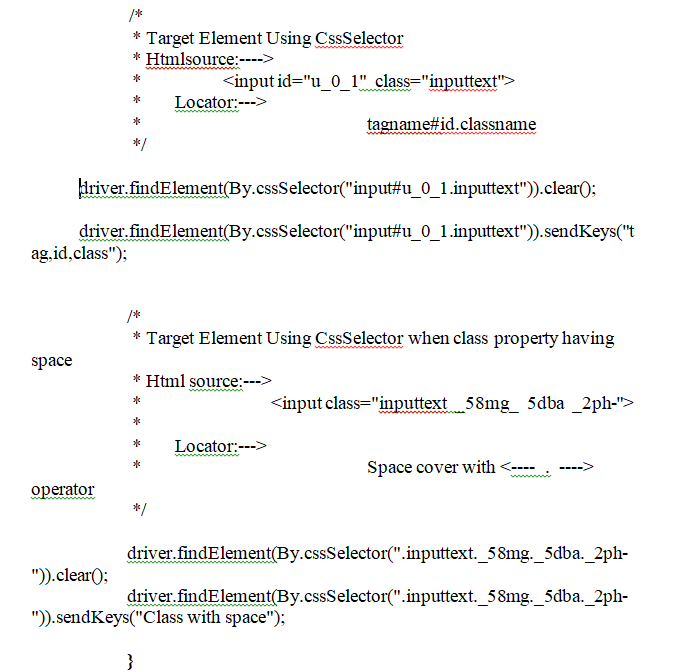 Using CSS Selectors Continue Program