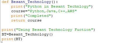 Variable of Python