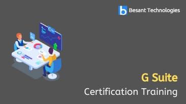 G Suite Certification Course