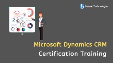 Microsoft Dynamics CRM Training in Bangalore