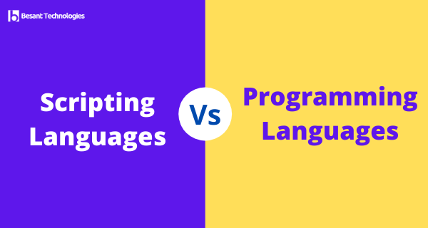 What's the difference between Scripting and Programming Languages