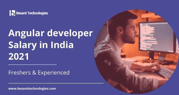 angular developer salary in india