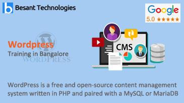 WordPress Training in Bangalore